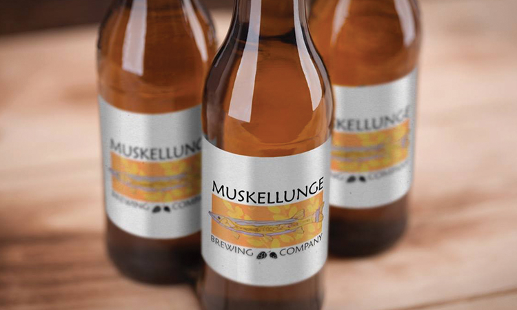 3 Muskellunge Brewing Bottles