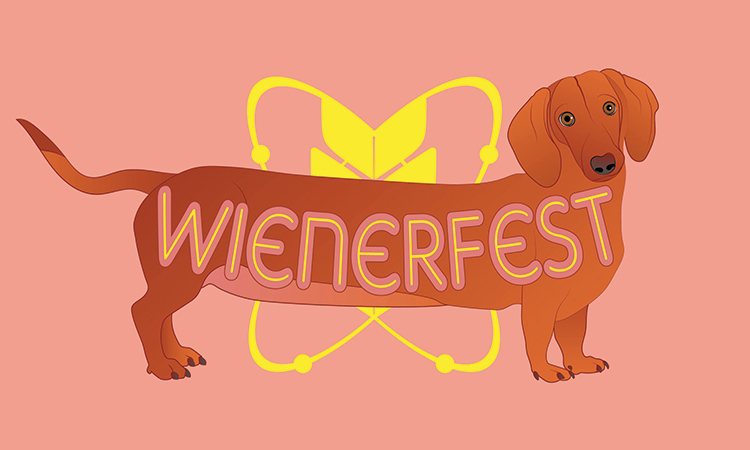 Actual Brewing Wienerfest graphic with dachshund