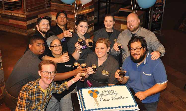 Brew Brothers 3rd birthday celebration