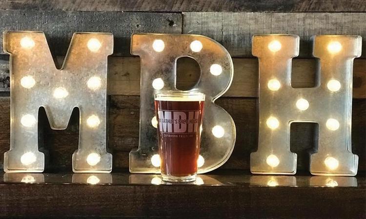MBH - McArthur's Brew House Abbey's Amber Ale