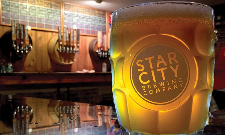 Star CIty Brewing beer mug