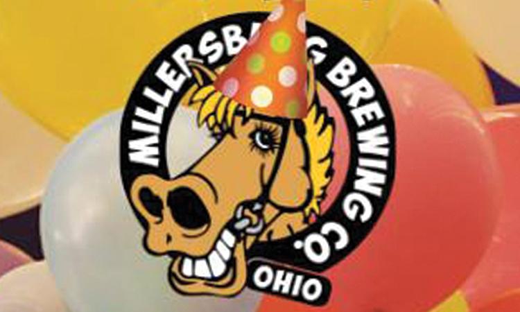 Millersburg Brewing Co. - Wild Rosie birthday hat logo
