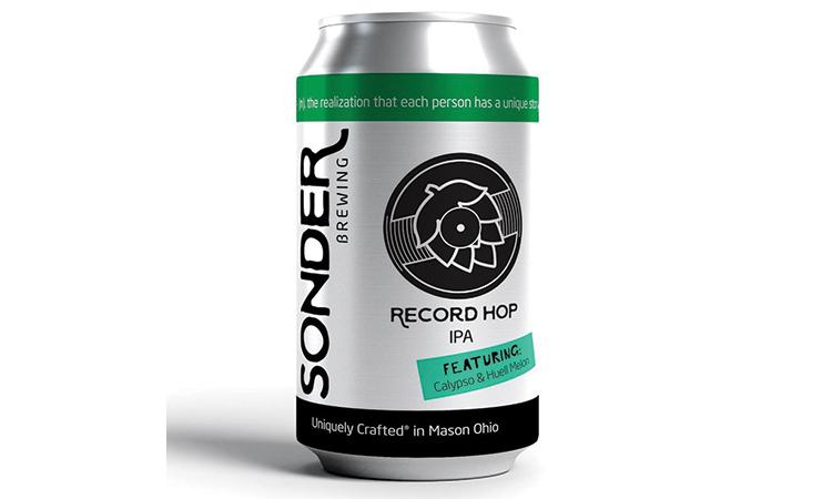 Sonder Record Hop IPA can