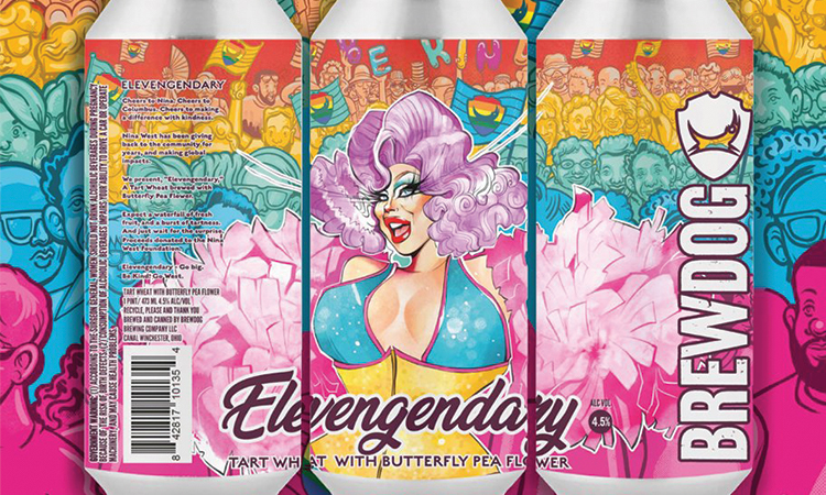 BrewDog Elevengendary cans