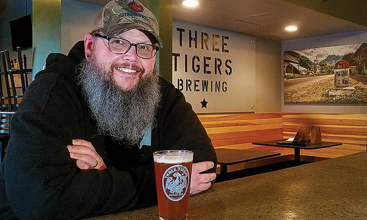 Patrick Gangwer - Three Tigers Brewing