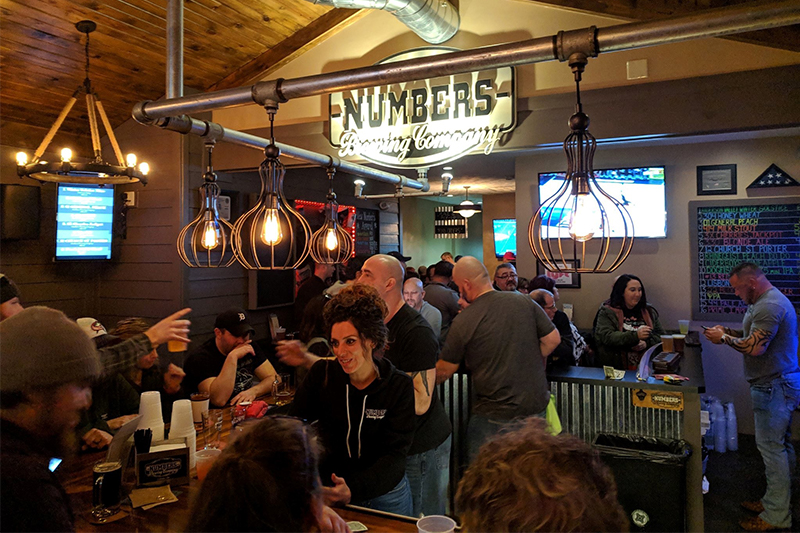 Numbers Brewing Company Taproom