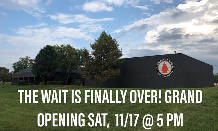 Olentangy River Brewing Co. - The wait is finally over: Grand Opening Sat. 11/17 @ 5 PM
