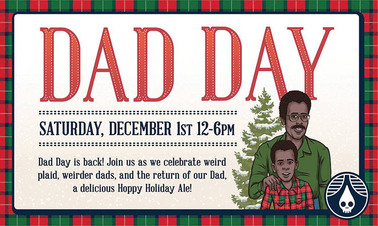 Rhinegeist Dad Day - Saturday, Dec. 1, noon-6 p.m.