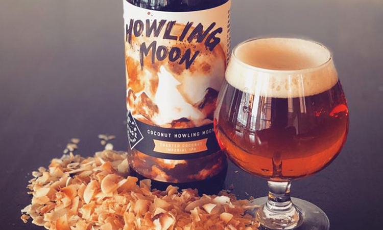 Wolf's Ridge Brewing Coconut Howling Moon