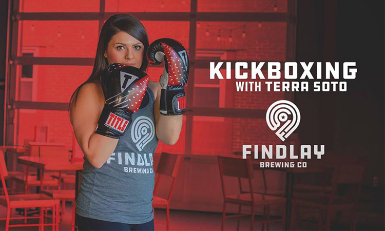 Findlay Brewing Co. - Kickboxing with Terra Soto