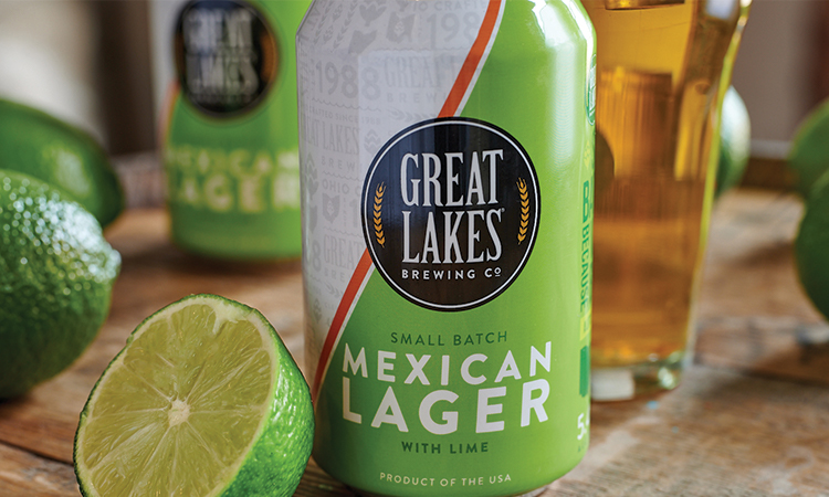 Great Lakes Brewing Company Small Batch Mexican Lager with Lime