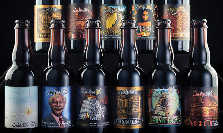 Jackie O's Brewery - Bwizzle Day bottle lineup