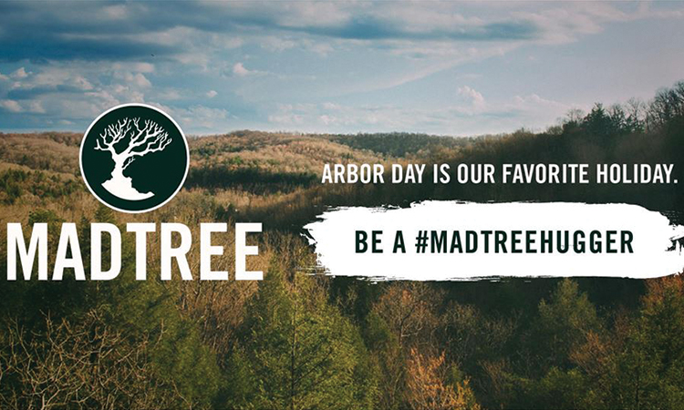 MadTree Brewing - Arbor Day is our favorite holiday. Be a #MadTreeHugger