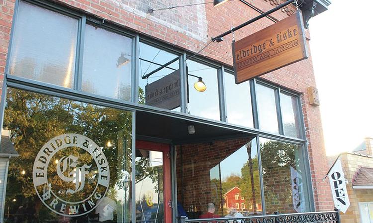 Eldridge & Fiske Brewing Company exterior