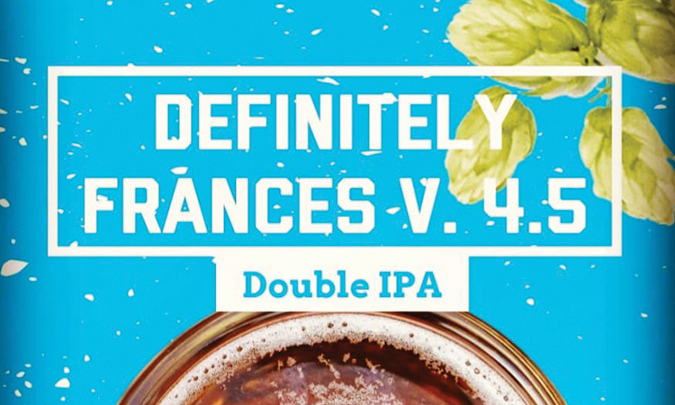 Fifth Street Brewpub - Definitely Frances v.4.5 Double IPA