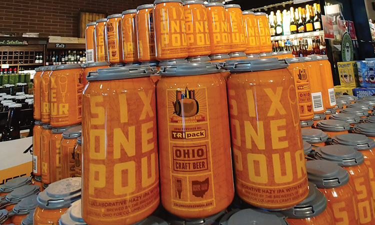 Six One Pour collaboration beer cans